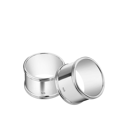 Classic Napkin Rings set of 6   - Click to view a larger image