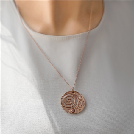 Contemporary Rose Jewellery Collection Jewellery By Newbridge - Labyrinth-security-door-chain