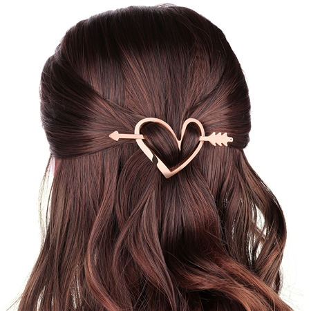 Heart scarf/hair accessory  - Click to view a larger image