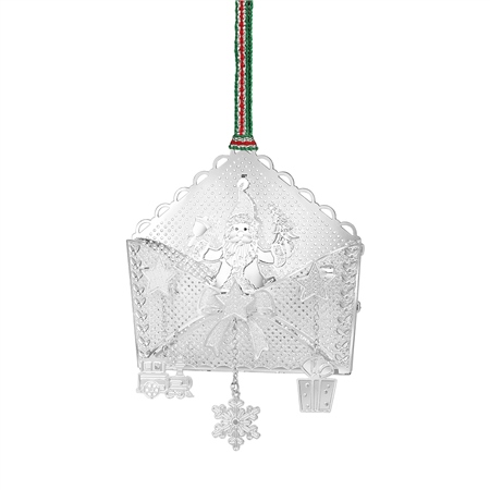 Santa in Envelope Decoration