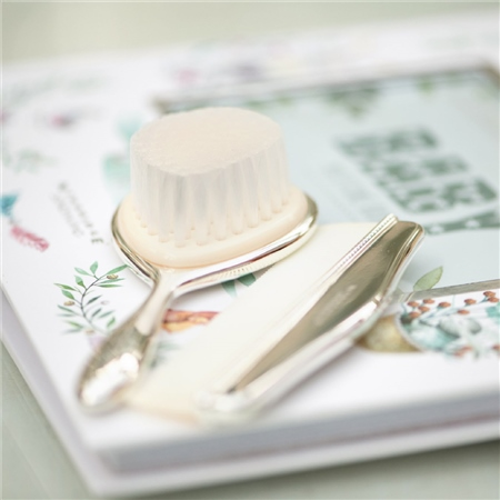 Newbridge Silverware Baby Brush and Comb Set  - Click to view a larger image