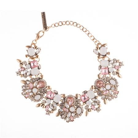Oscar de la Renta Garden Party Pink Bracelet  - Click to view a larger image