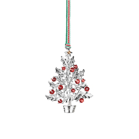 Holly Tree Hanging Decoration  - Click to view a larger image