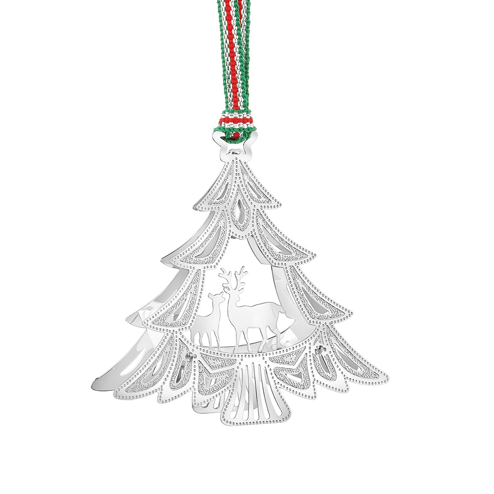 Newbridge Silverware Christmas Tree with Deers Decor | Newbridge ...