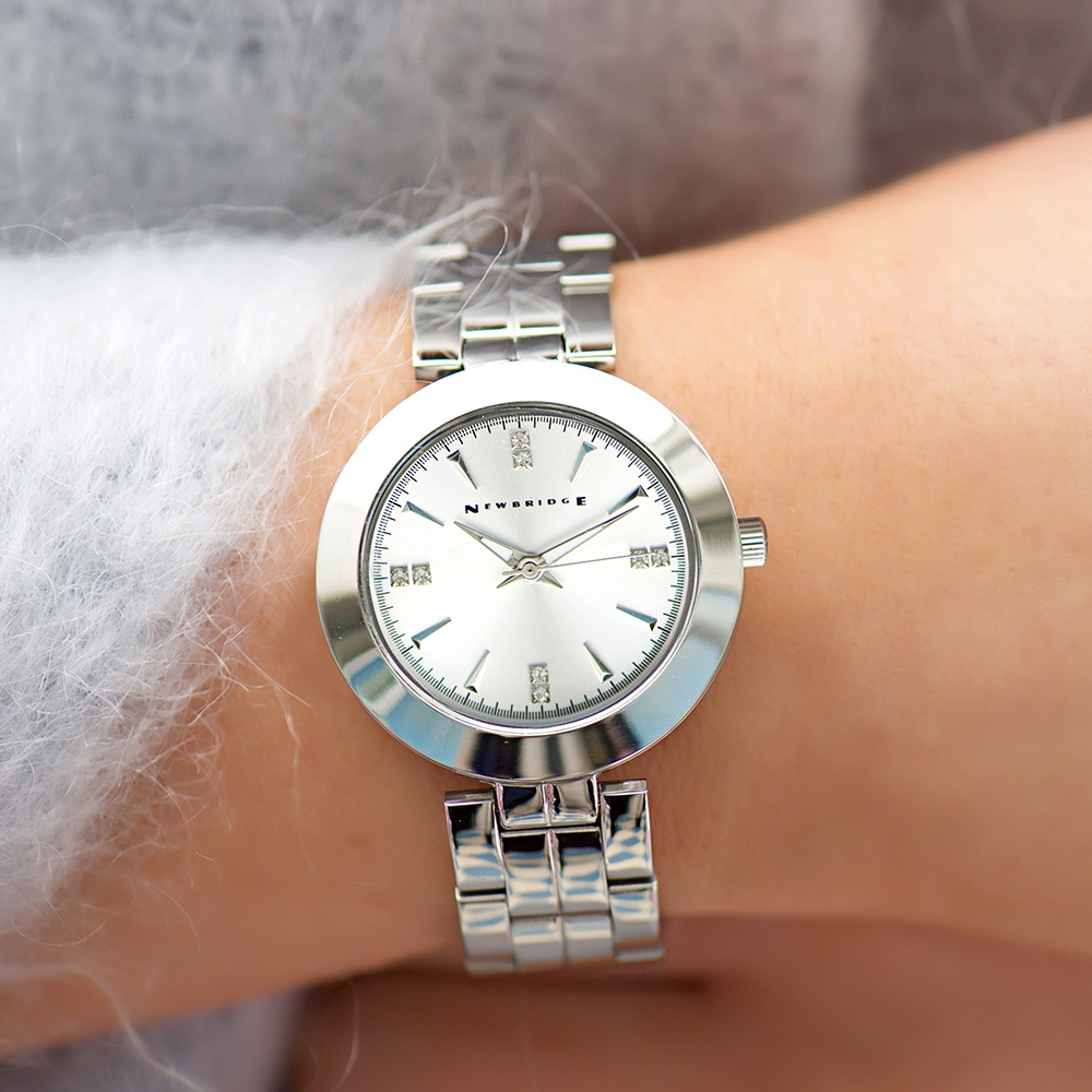 Ladies Silver Plated Watch 1
