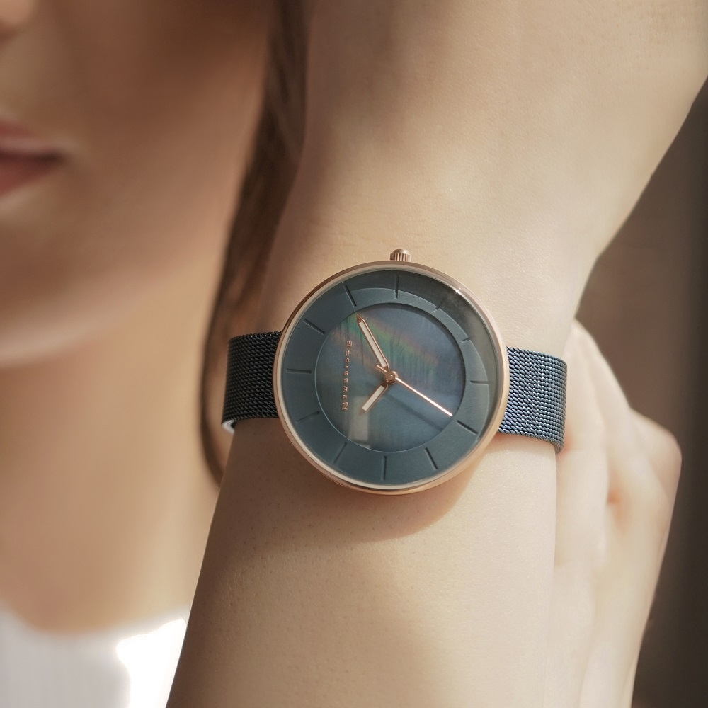 Ladies Watch Blue Strap 1
