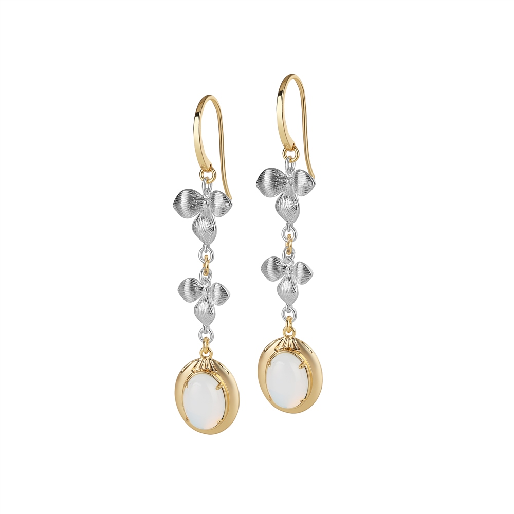 Dalique Orchid Earrings 1